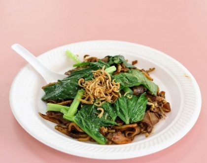 91 Fried Kway Teow Mee - 'Healthier' Char Kway Teow With Loads Of Greens, At Golden Mile Food Centre
