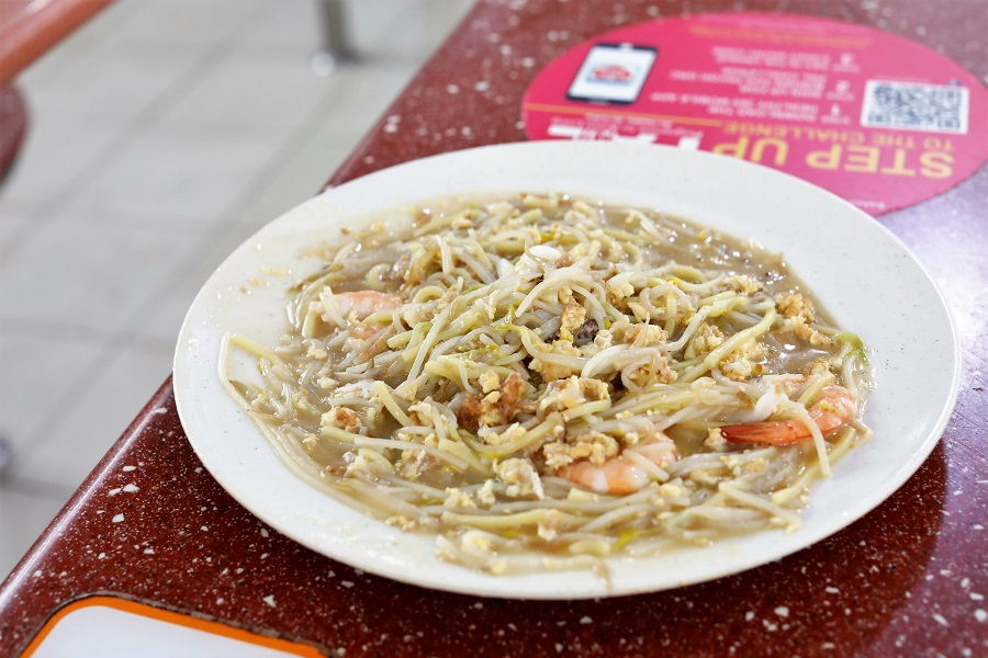 Come Daily - Popular Fried Hokkien Prawn Mee At Toa Payoh, With Michelin Plate