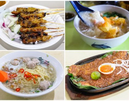 10 Must Try Stalls At Bedok 85 (Fengshan Food Centre) – From Soupy Bak Chor Mee, Pork Porridge To Satay Bee Hoon