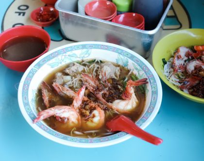 Jalan Sultan Prawn Mee - Famous Prawn Noodle Soup At Geylang, With Michelin Recommendation