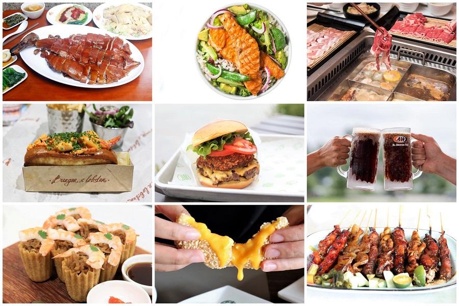 Jewel Changi Airport – 12 Restaurants To Savour From Shake