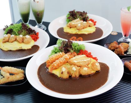 Monster Curry - 1st Hokkaido Jumbo Oyster Omelette Japanese Curry In Singapore, NEW Outlets At 100AM & Waterway Point