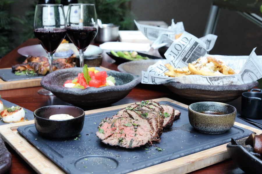 Opus Bar & Grill - FREE BOTTLE Of Wine With Order Of Sharing Steaks, NEW Tenderloin Steak & Over-The-Top Truffle Fries