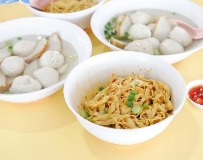 Ru Ji Kitchen – Delicious Handmade Fishballs At Holland Drive & Old Airport Road, With Michelin Recommendation