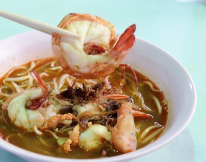 Whitley Road Prawn Noodles - Famous Hae Mee At Old Airport Road Food Centre, With Michelin Recommendation
