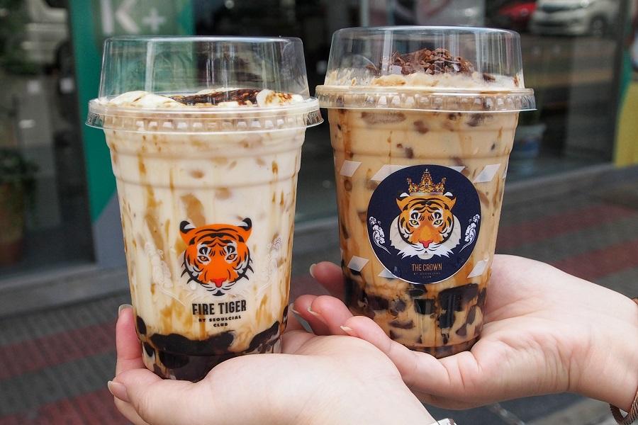 "Fire Tiger by Seoulcial Club – Most ""Pops"" Crème Brûlée Brown Sugar"