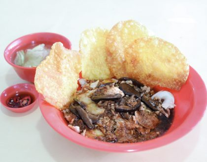 "Hup Hup Minced Meat Noodle – Bak Chor Mee With Ketchup, ""Attitude"" And Michelin Recommendation, At Ang Mo Kio Ave 6"