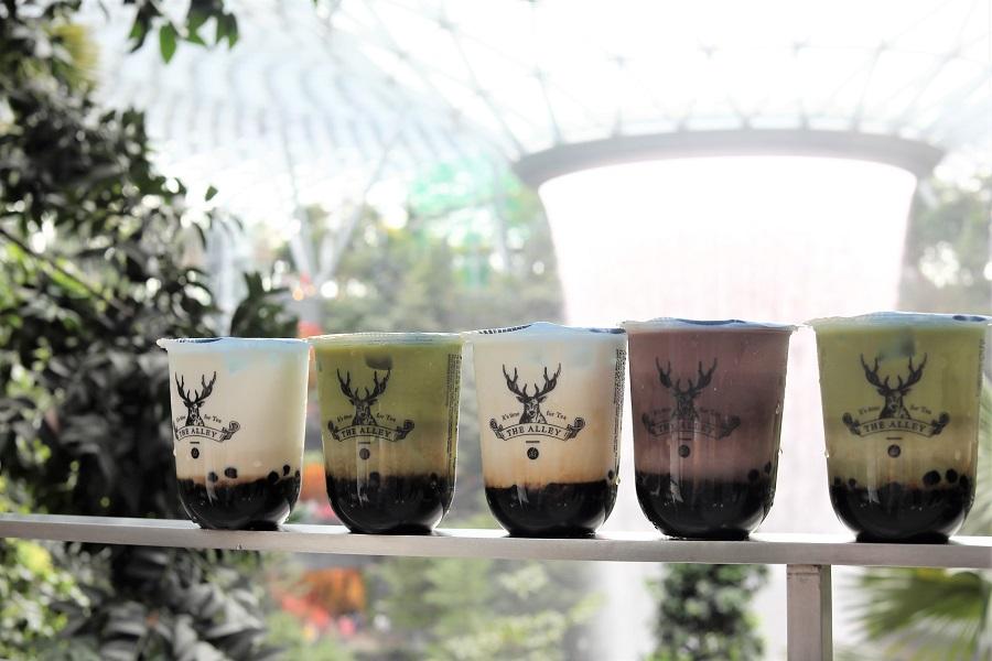 The Alley Singapore – Famous Bubble Tea Shop At Jewel Changi