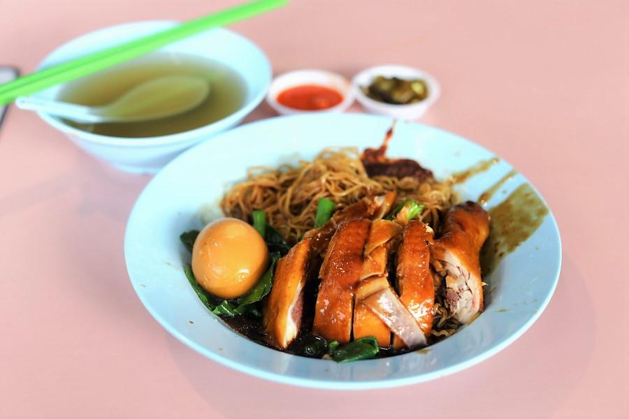 Xiang Jiang Soya Sauce Chicken - Hong Kong Restaurant Quality Noodles & Dumplings, At Alexandra Village Food Centre