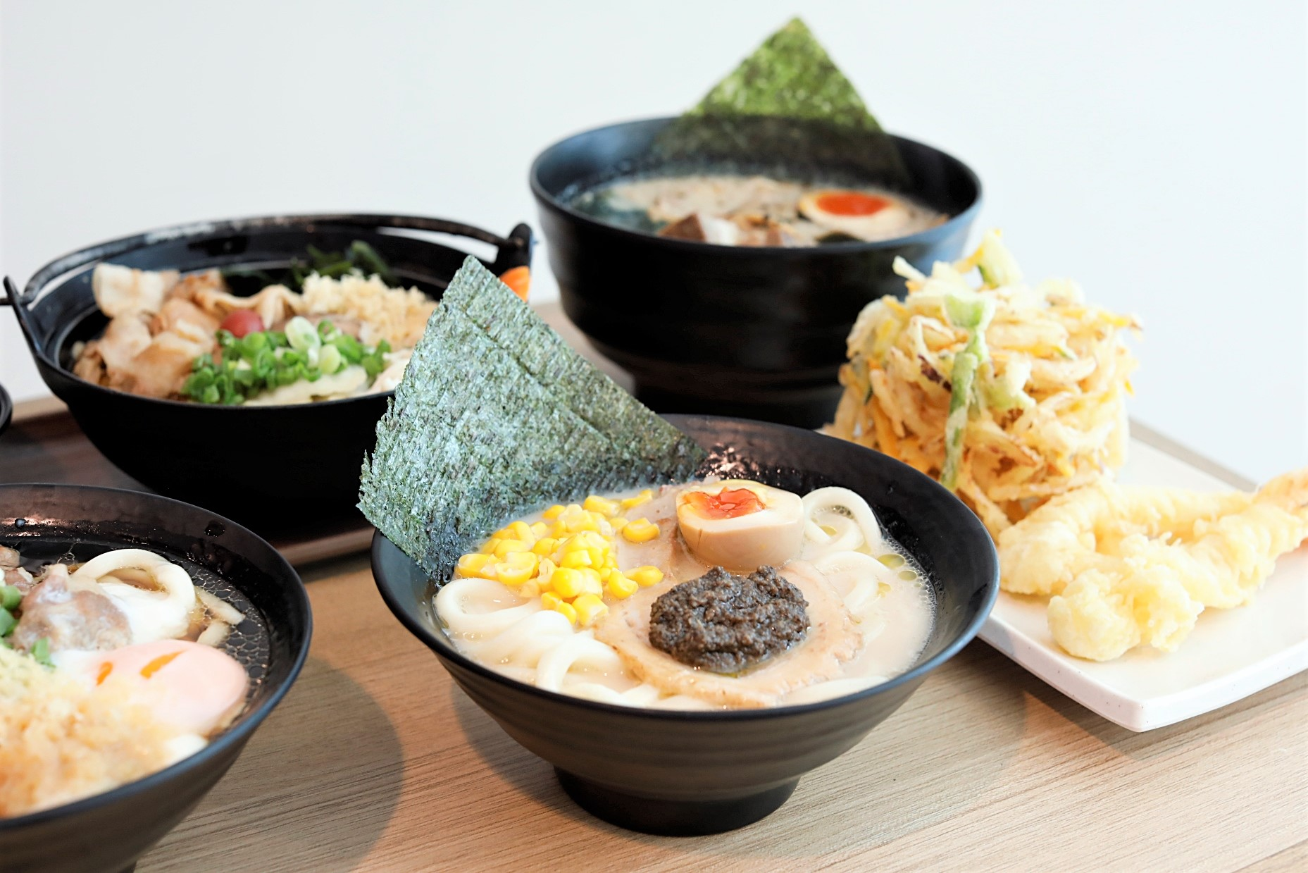 Tamoya Udon ? Exclusive Truffle Tonkotsu Udon and Sukiyaki Udon, NEW Outlet At Plaza Singapura