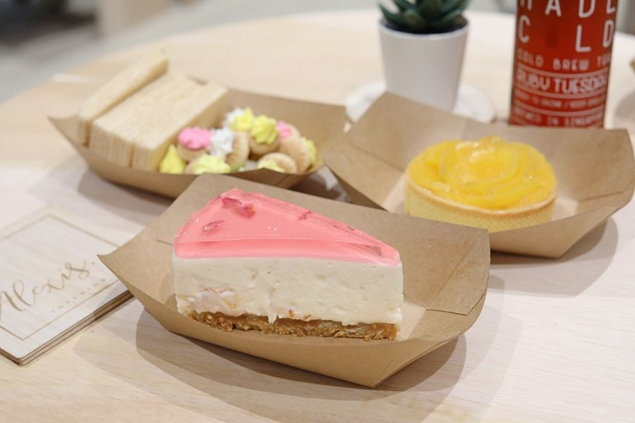 TRYna Café – NEW Cafe With Lychee Rose Cheesecake And Mango Tartlets, Set Up In 10 Days
