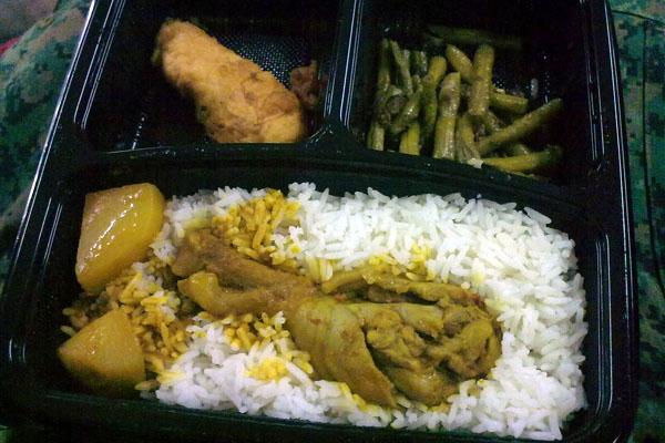 Western Food Plate