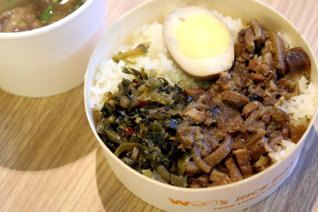 Woo Ricebox – A Taste of Taiwanese Rice Boxes At Orchard XChange – DanielFoodDiary.com
