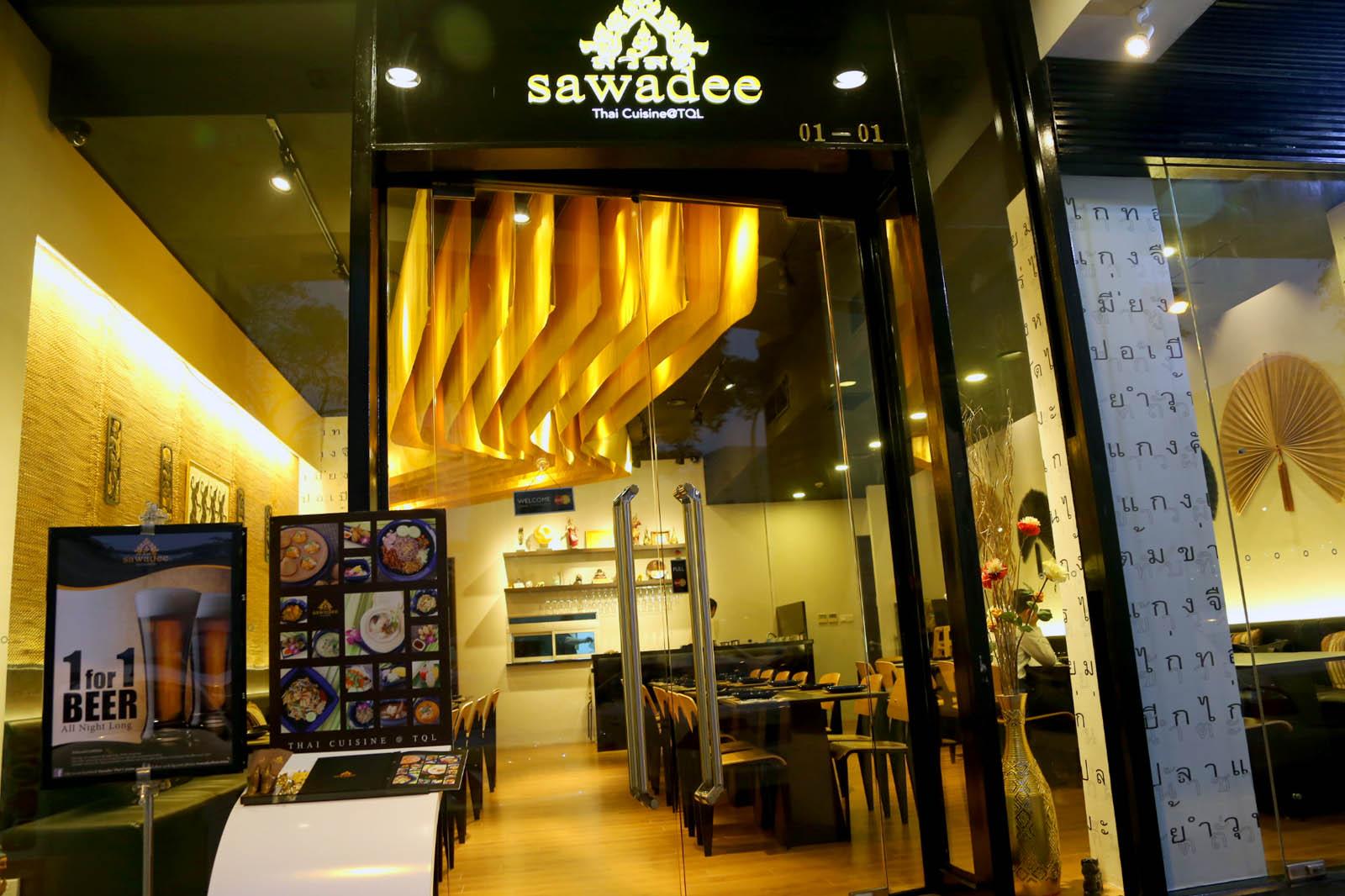 Sawadee Thai Cuisine Hidden Gem At Tan Quee Lan Bugis