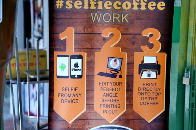 Selfie Coffee Singapore – Serious  Drink Your Selfie
