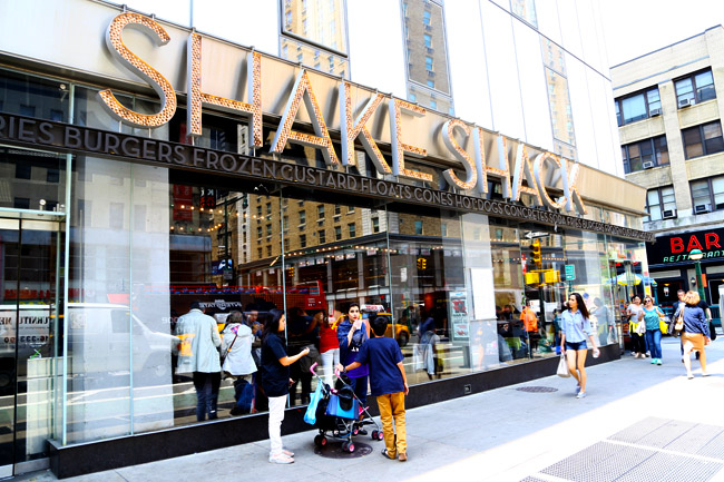 Shake Shack – That Iconic Burger From New York City  For The