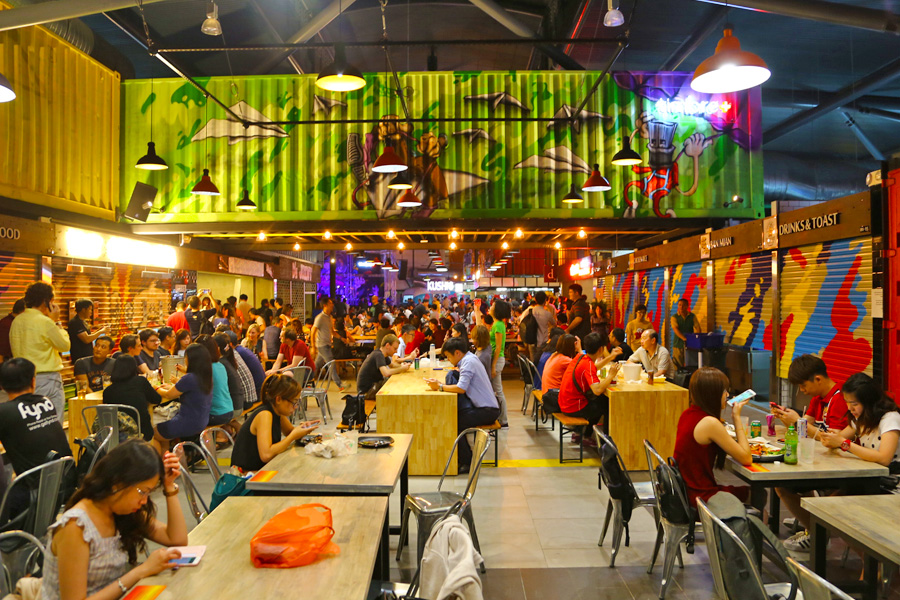 Timbre+ – 1st Container & Food Truck Food Place In Singapore