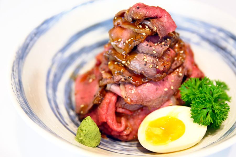 Sandaime Bunji – Awesome Wagyu Round Roast Beef Bowl At Millenia Walk –  DanielFoodDiary.com