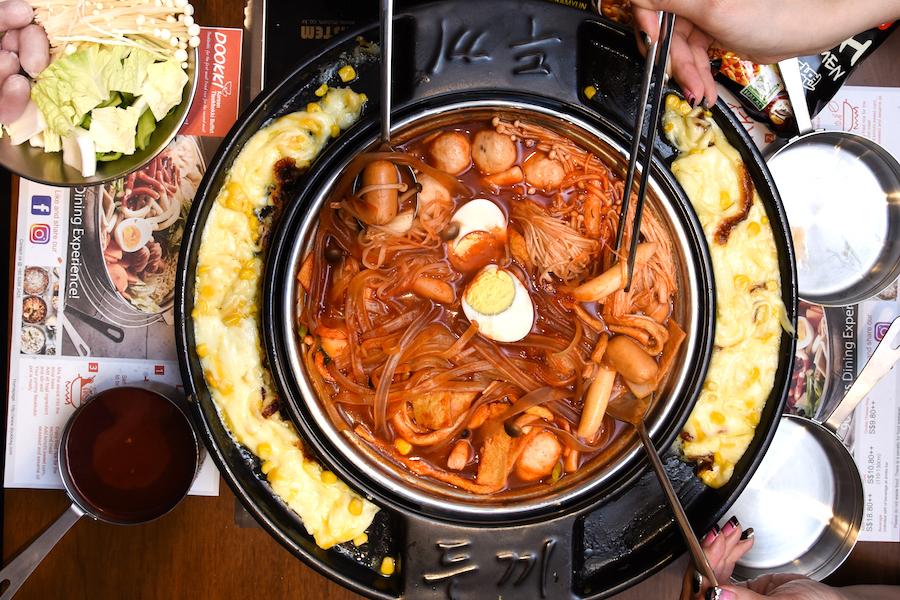 Dookki Singapore 두끼 1st Korean Tteokbokki Buffet At Suntec