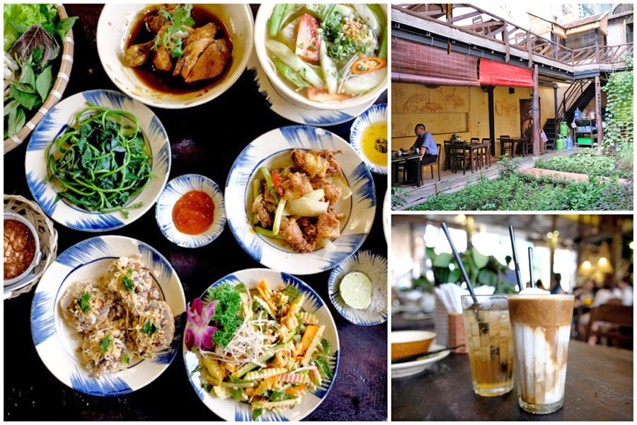 Secret House Authentic Home Cooked Vietnamese Food In A Secret Garden At Ho Chi Minh City Danielfooddiary Com