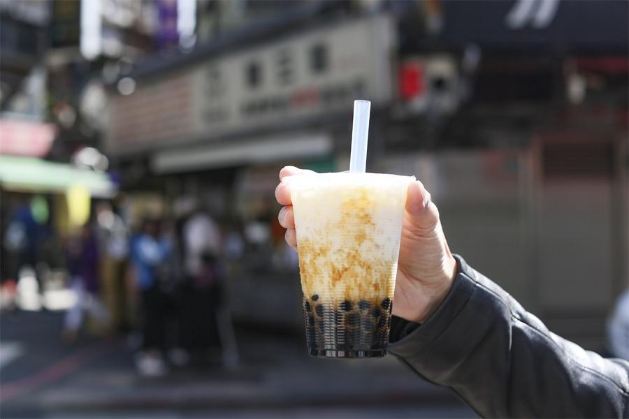 Chen San Ding 陳三鼎青蛙鮮奶 Best Brown Sugar Bubble Milk In