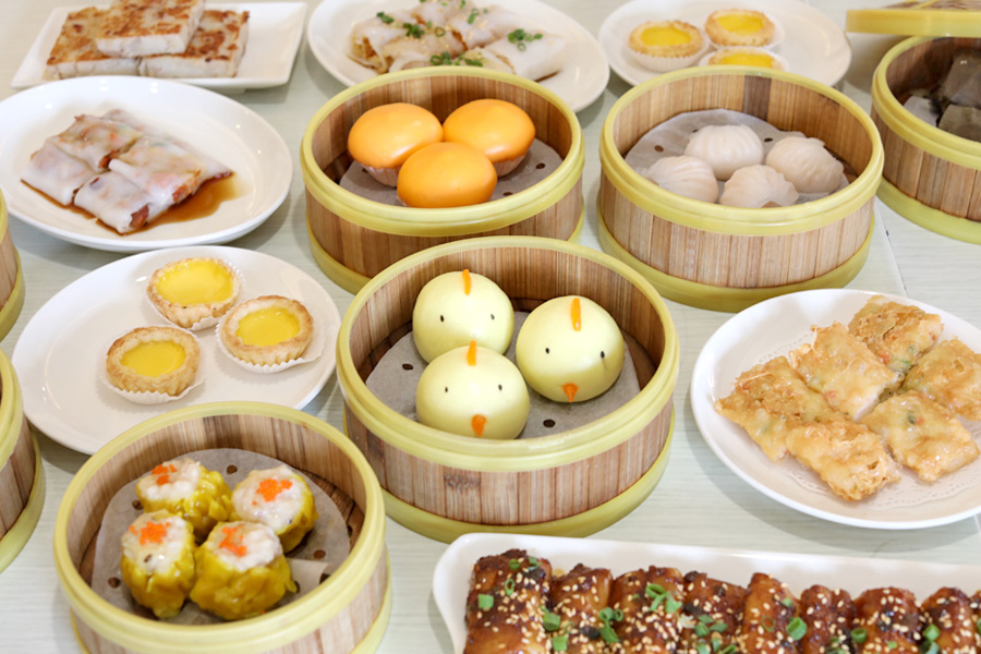 Crystal Jade Kitchen All You Can Eat Dim Sum Hightea