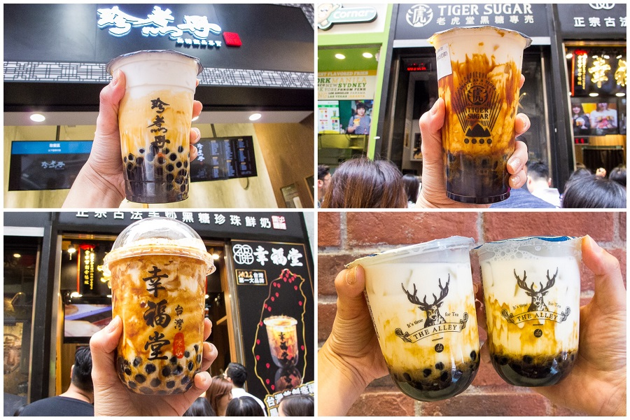 Best Brown Sugar Bubble Milk In Hong Kong The Alley