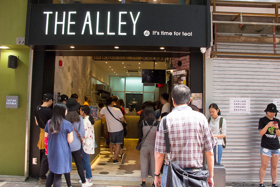 The Alley 鹿角巷 – Popular Bubble Tea Shop Known For Brown