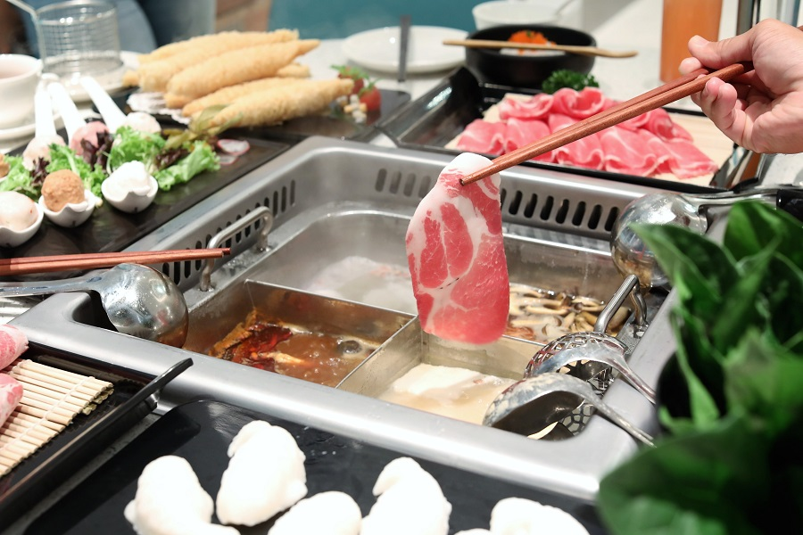 Beauty In The Pot – Tiffany Blue Hotpot Restaurant At Jewel Changi Airport,  Opens Till 6AM Everyday – DanielFoodDiary.com