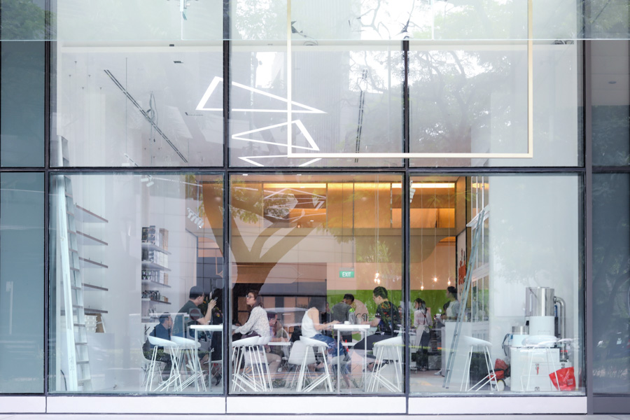 Glyph Supply Co. – Minimalist White Café Found At Somerset ...