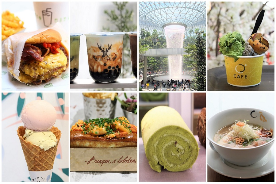 Amazing Jewel Changi Airport Ultimate Food Guide 112 Restaurants Interior Design Ideas Grebswwsoteloinfo