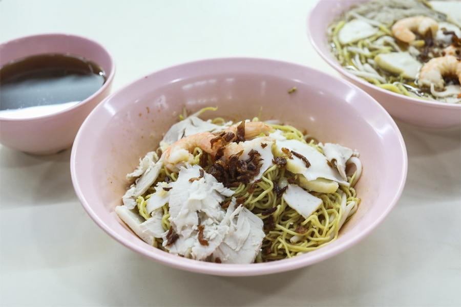 Wah Kee Big Prawn Noodles - Large Fresh Prawns