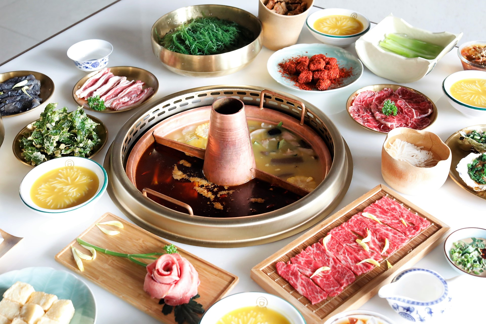 Tong Xin Ru Yi Traditional Hotpot – NEW Hotpot Restaurant With Nourishing Golden Chicken, Frog And Spicy Beef Soups – DanielFoodDiary.com