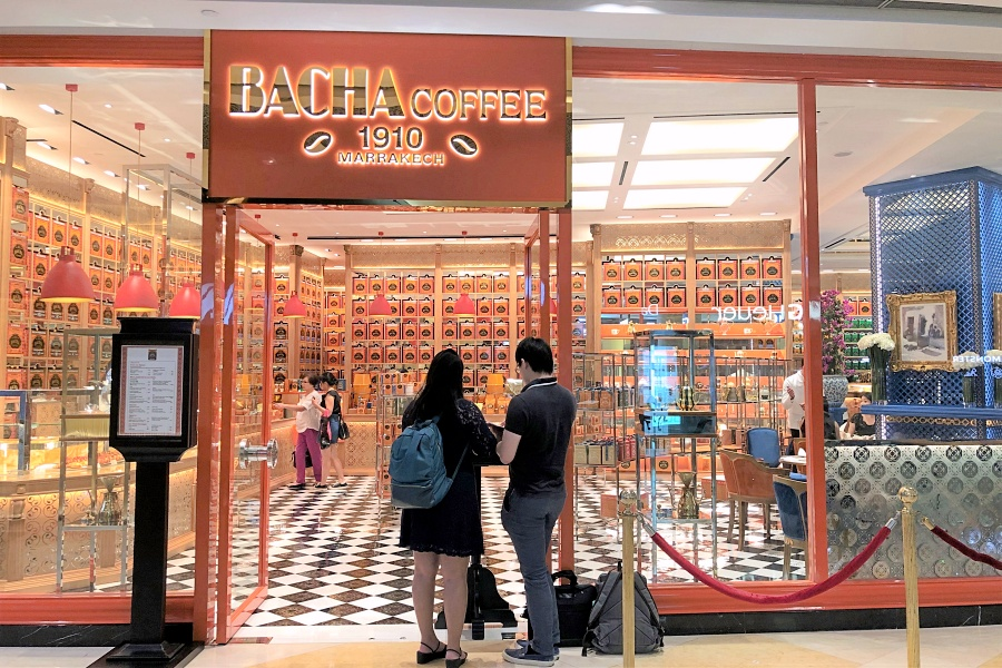 Bacha Coffee Gorgeous Moroccan Themed Coffee Boutique Brunch Place To Experience High Ses Lifestyle At Ion Orchard Danielfooddiary Com