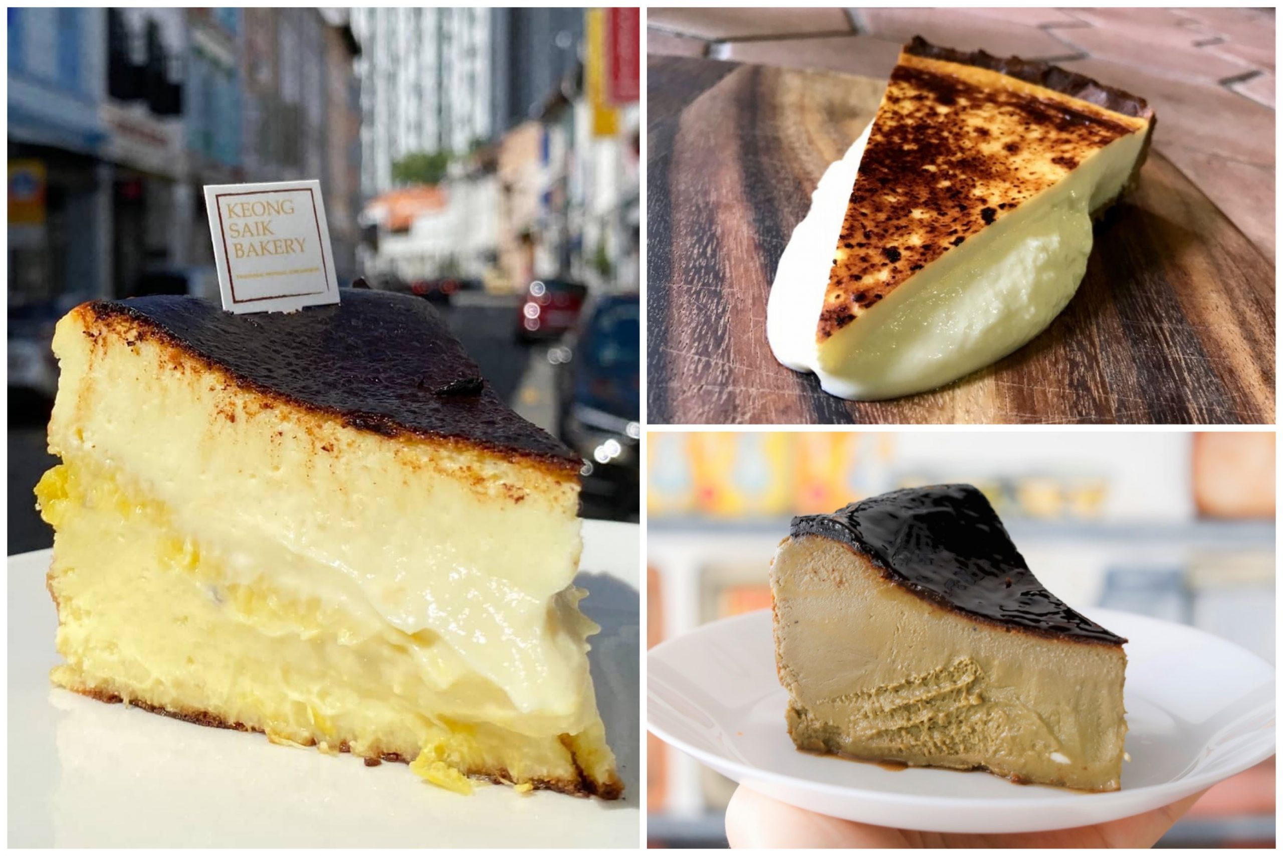 10 Basque Burnt Cheesecake In Singapore Including Mao Shan Wang Matcha And Hojicha Burnt Cheesecake Danielfooddiary Com
