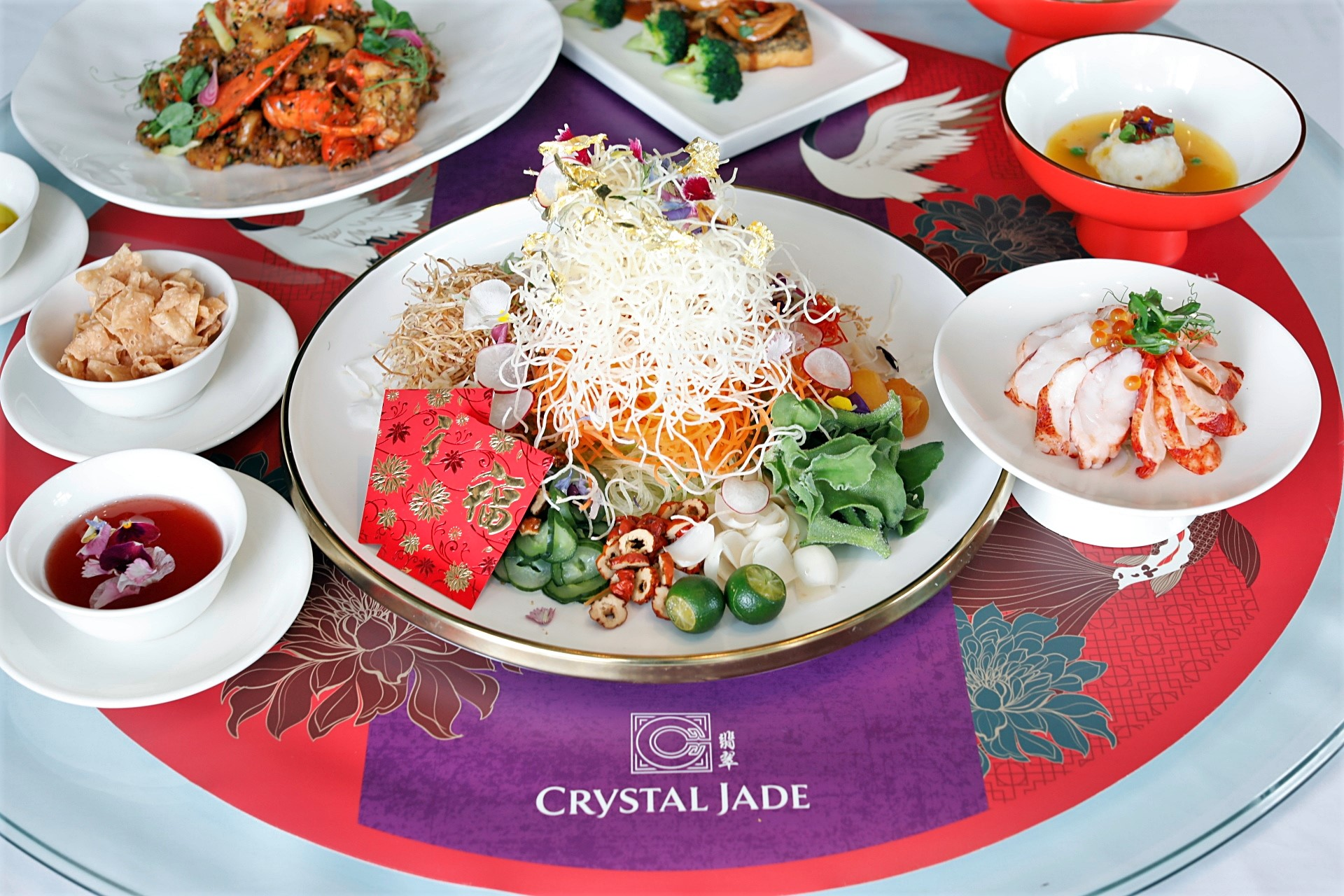 Crystal Jade Chinese New Year 2020 – Celebrate with Lobster Yusheng, Salt-Baked Dang Gui Chicken and Crystal Trio Dumplings