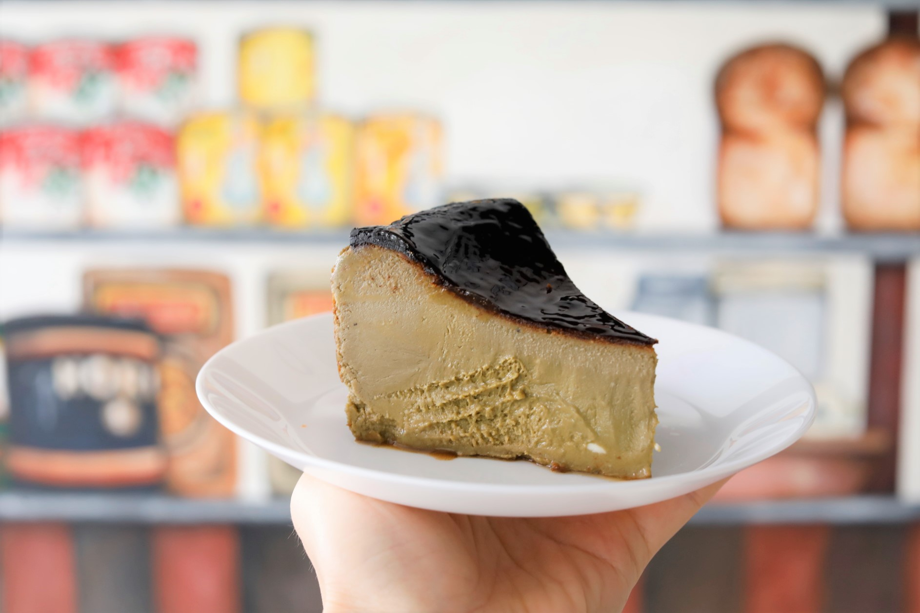 Bakery Brera Fine Foods Molten Rich Hojicha And Matcha Basque Burnt Cheese Cake Danielfooddiary Com