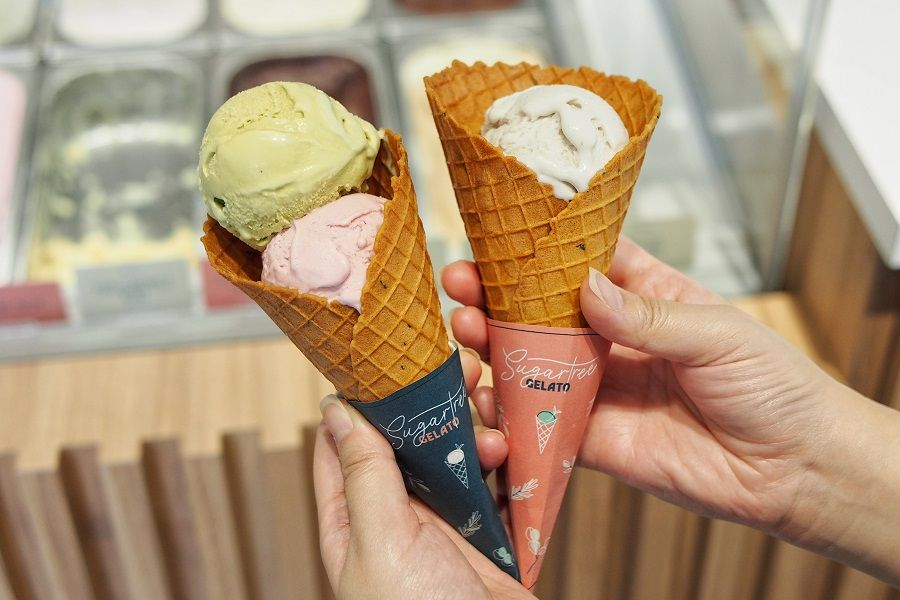 SugarTree Gelato – Gelato Cafe With Banana Milk And Raspberry Rose Flavours  At Hougang, With Islandwide Delivery – DanielFoodDiary.com