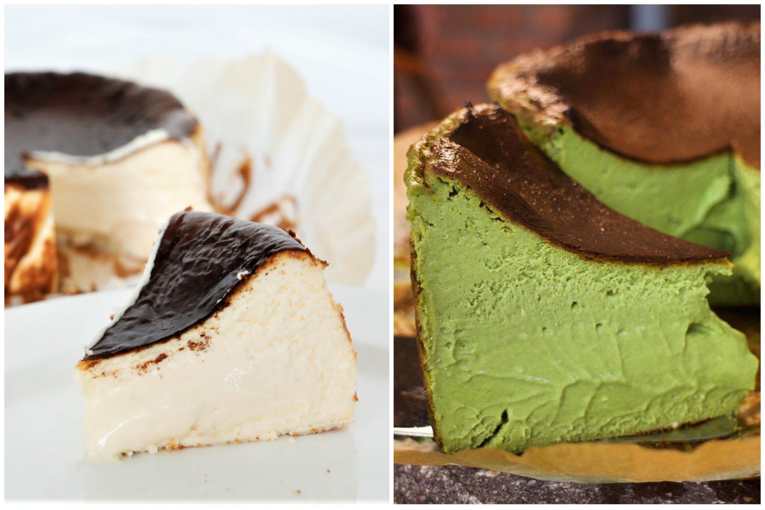 Chalong Soft Creamy Basque Burnt Cheesecake Now With Uji Matcha Version Islandwide Delivery Available Danielfooddiary Com